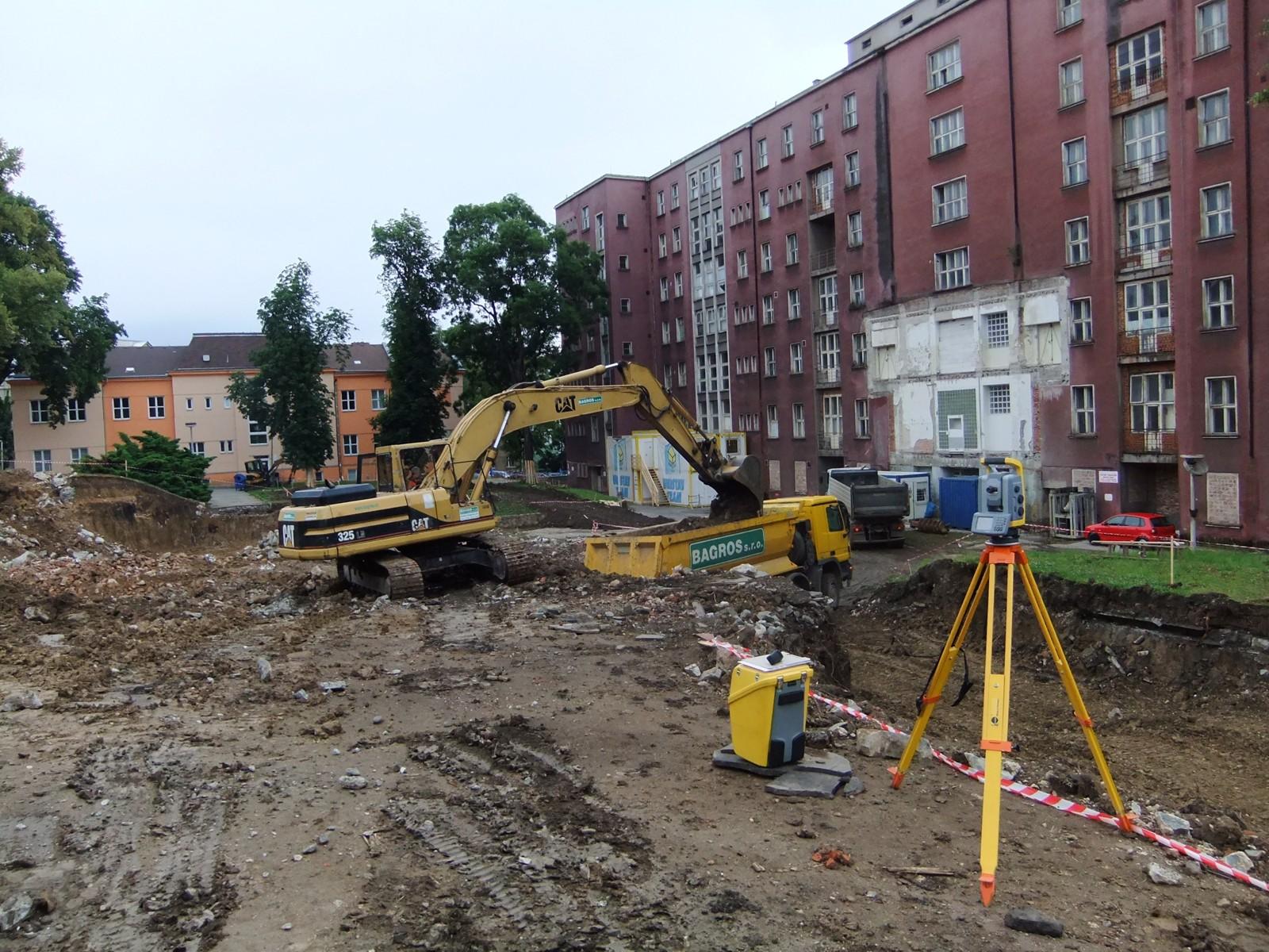 areál Kampusu UJEP v Ústí nad Labem 04-07-2011